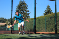 Padel Tennis Volley Vorhand